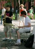 Jamming in Washington Square Park