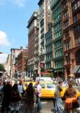North View of Broadway at Bleecker