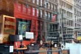 Crate & Barrel Window Reflections
