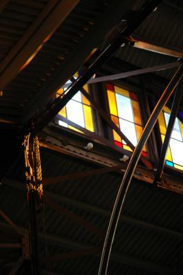 Inside Tabernacle