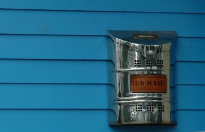Shiny Mail Box