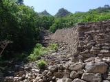 Fortress in Woraksan mountain