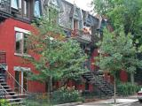 Typical houses in Montreal