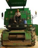 Mennonite Farm Tractor