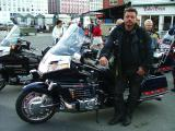 Honda GoldWing -and its owner