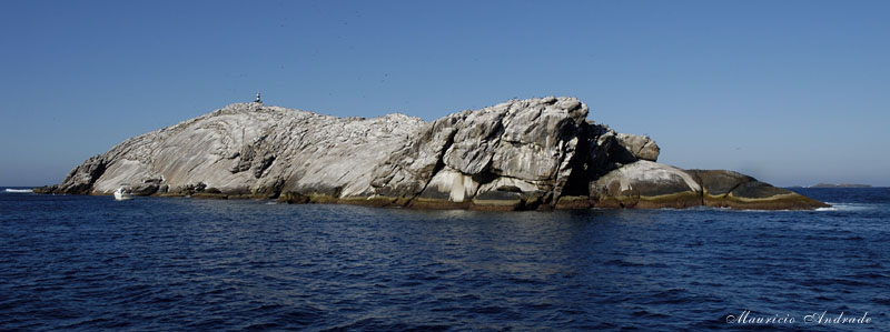 Laje de Santos e Rochedo dos Calhaus ao fundo
