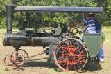 Steam Tractor - unknown mfr