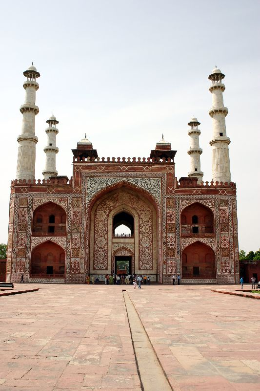 From Inside the complex, Sikandra, Agra