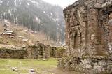 Inside Sharda Temple  complex