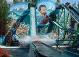 Funpark Geiselwind - yes, we got soaking wet