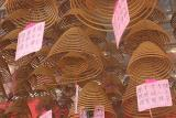 Spiral Incense (Close Up)