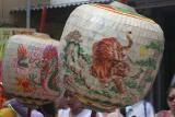 Dragon and Tiger Lanterns