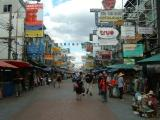 Khao San Road during the day
