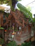Spirit house at