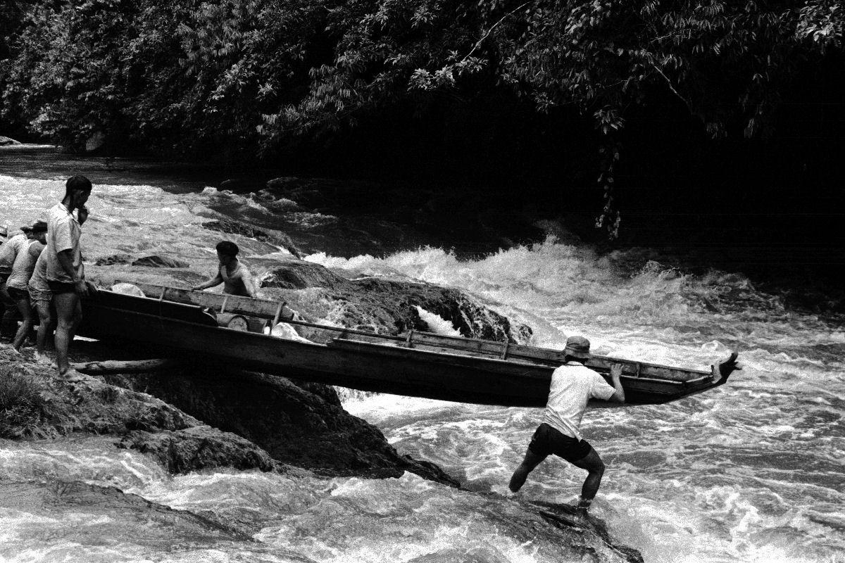 1964 Sarawak - Rapids in Sungei Patah
