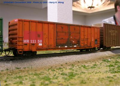 Check out the weathering on this McCloud River Railway Boxcar by Chris Palomarez