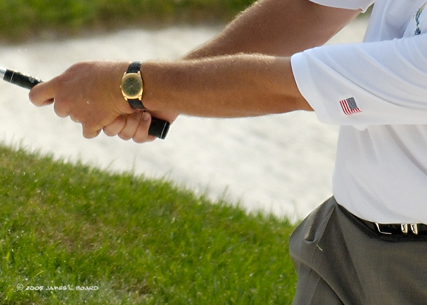 Nice Rolex. What time is it Phil?