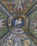 Basilica of Saint Vitale, ceiling (detail 1)