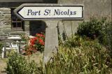 Sign Port St. Nicolas, Île de Groix