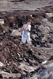 Jesse in the volcano