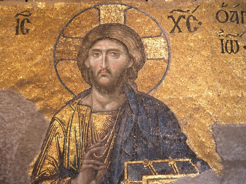 Hagia Sophia fresco