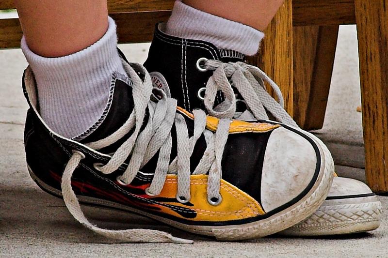 A pair of sneakers *