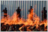 * A Blaze of Fire Builders *