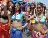 Sarong Trio of Lovely ladies