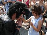 A Cavalier Elvis Hand Kissing