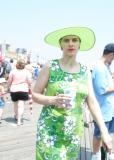 Lime Green and Overexposed