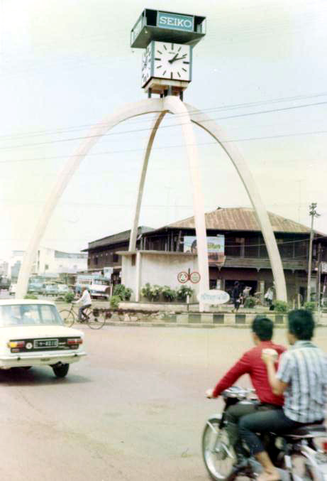 1st Traffic Circle - Udorn 1970