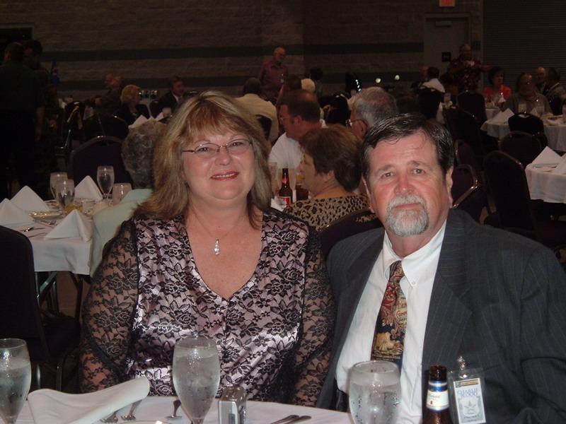 Charlie and Casandra at VSPA Banquet