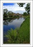 Rectangular pond, Forde Abbey, near Chard (2190)
