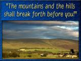 'The mountains and the hills' slide from the Speyside series