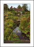 Garden and farmhouse, Gant's Mill, Bruton, Somerset