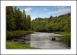 Fishing on the Spey, Ballindalloch Castle, Banffshire, Scotland
