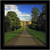 Front drive, Montacute House, Montacute, Somerset