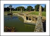Pond and balustrade, Montacute House (2176)