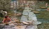 Pamukkale, ancient thermal pool