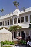Courtyard, Lake Palace Hotel