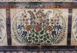 Inlaid marble panel, City Palace