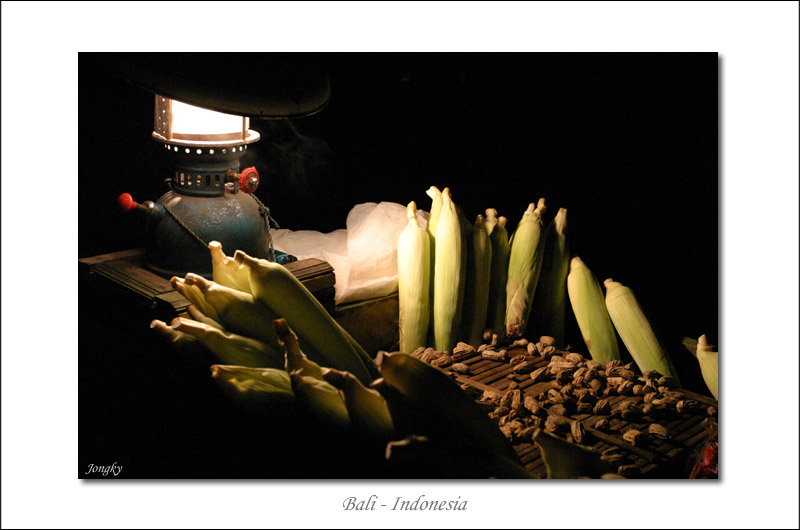 Corn under the light