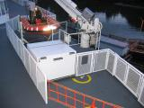 Rescue boat/life raft station