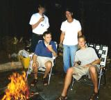 Guys camping