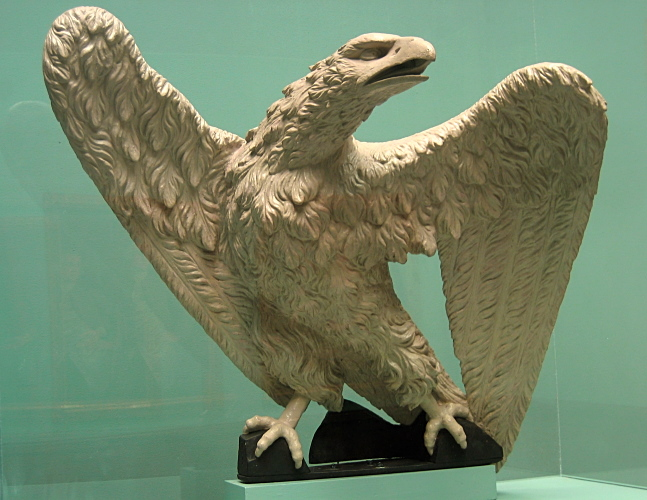 Eagle, possibly by Benjamin Rush<br>Pennsylvania Academy of the Fine Arts<br>1939