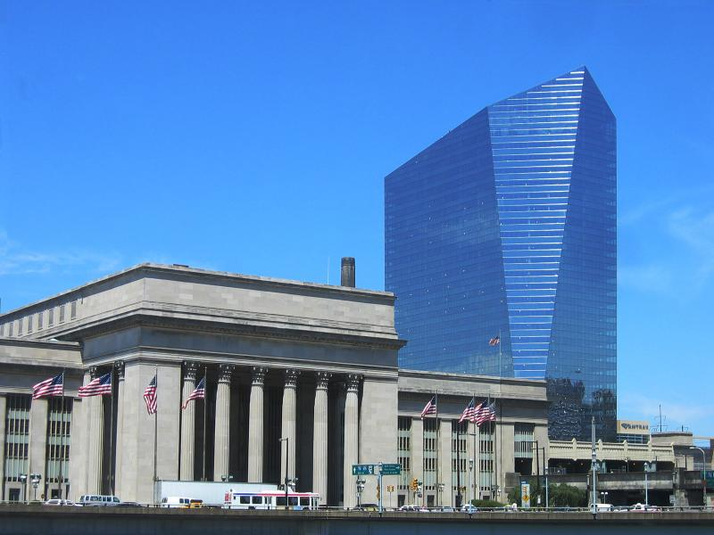 30th Street Station and the Cira Centre<br>2410