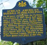 African American Baseball in Philadelphia