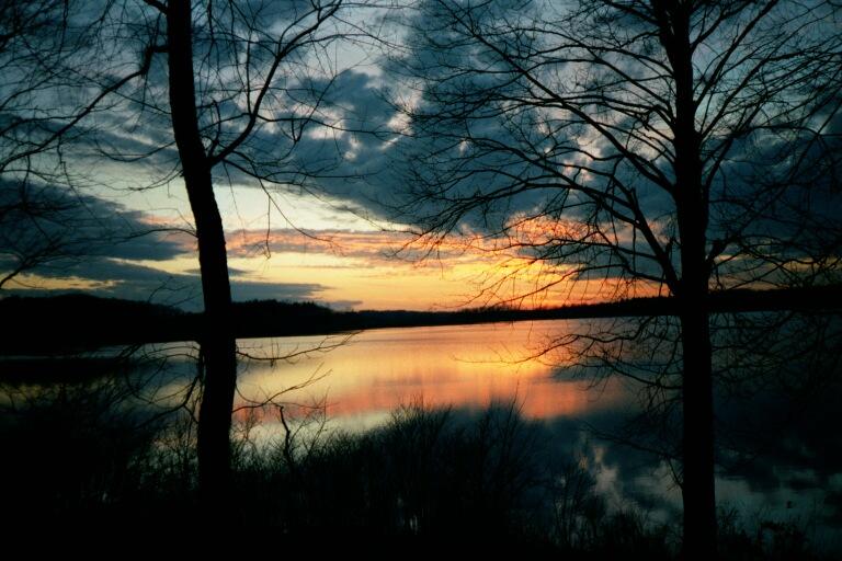 nimisila lake sunset 2
