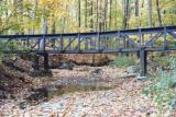bridge over a dry creek bed