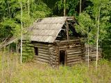 Log cabin, Wells Gray Park